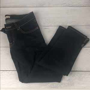 JBrand skinny jeans with zippers